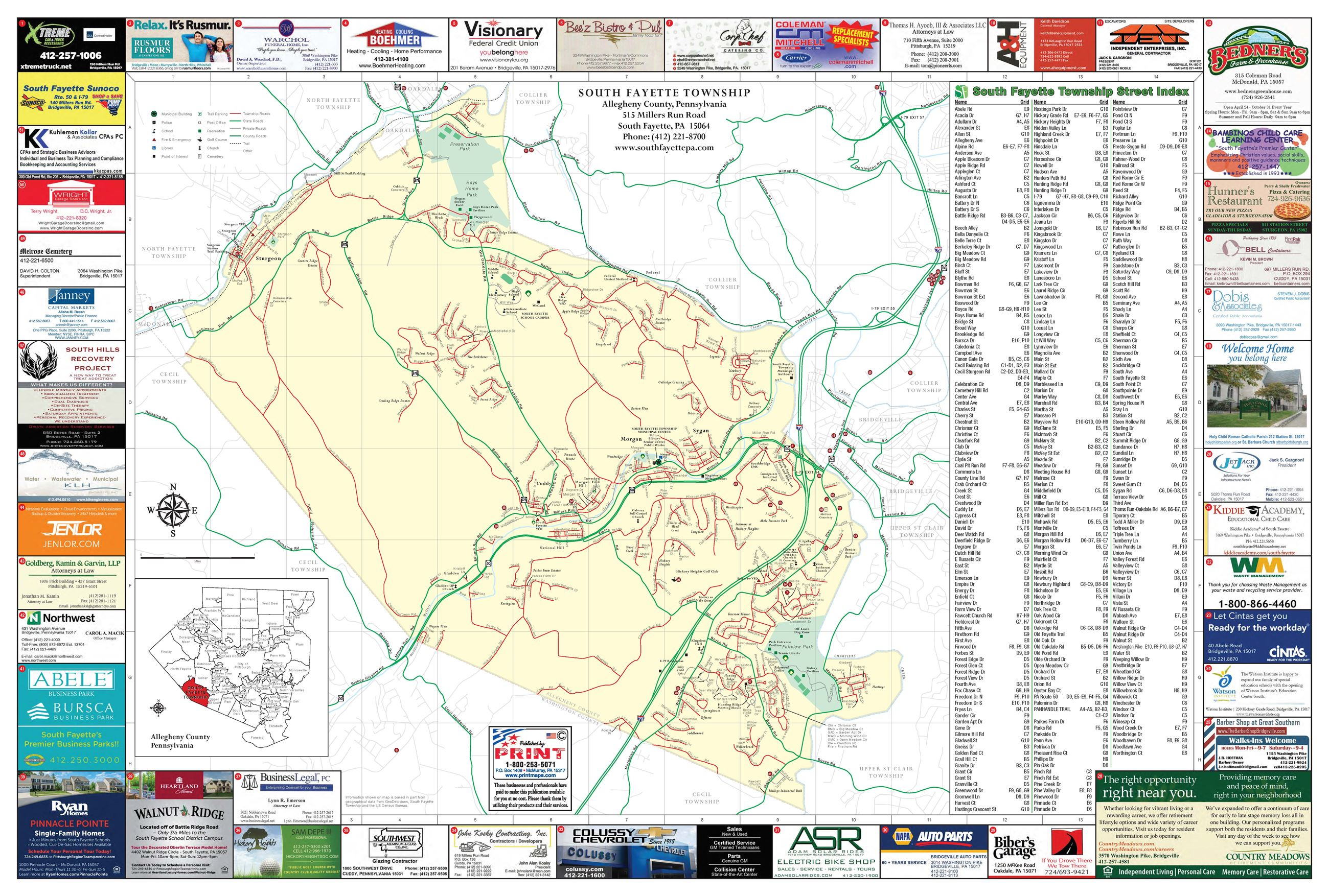 Maps | South Fayette Township, PA - Official Website