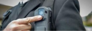 Body Worn Camera on police uniform