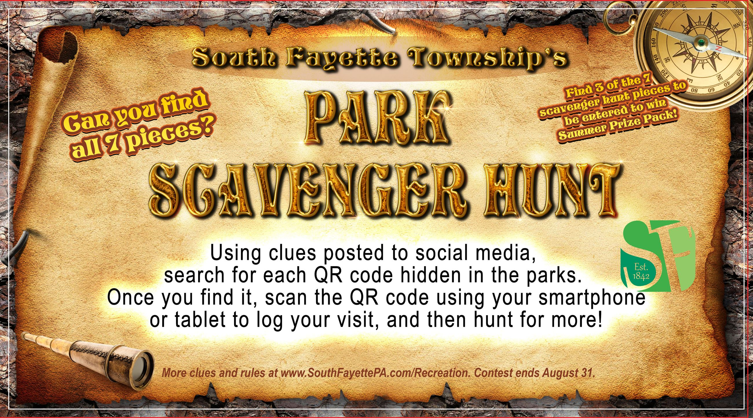 GENERAL Scavenger Hunt Clue