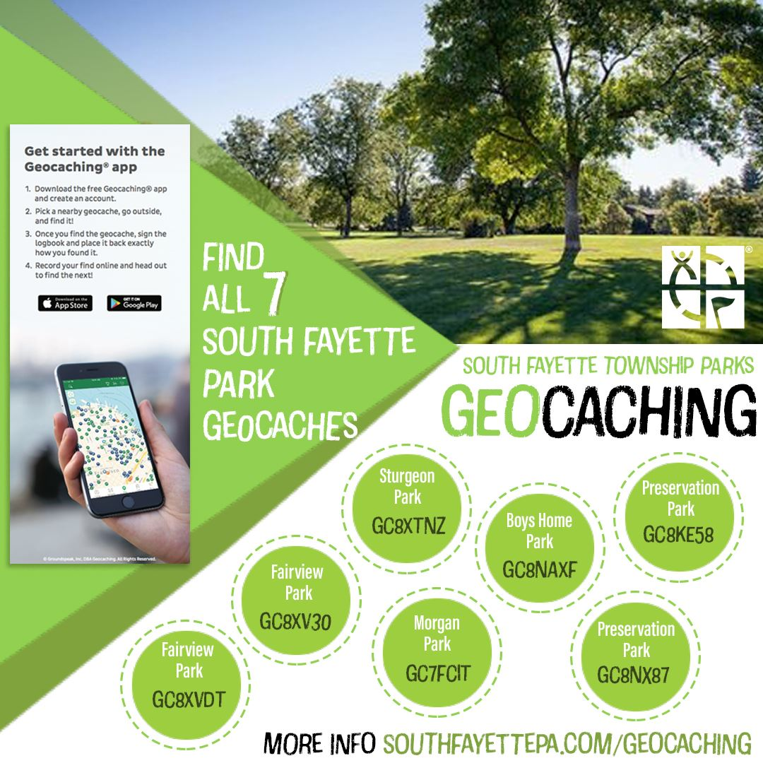 Park Geocaching Ad