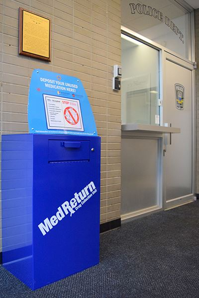 Med Return Box Police